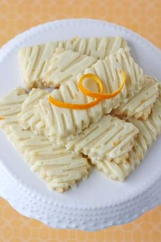 Glorious Treats » Orange Zest Sugar Cookies