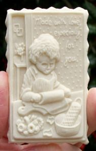 Cookie made with Little Cindy Baking mold Molded Cookie Recipe, Dutch Cookies, Bread Mold, Springerle Cookies, Butter Molds, Baby Shower Cookies, Christmas Cooking, Chocolate Molds, Gingerbread Cookies
