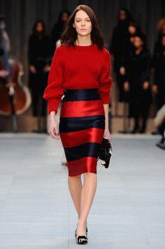 The Secret To Wearing Horizontal Stripes