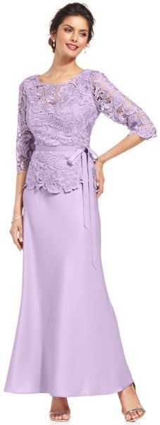 http://www.lyst.com/clothing/alex-evenings-threequartersleeve-illusion-lace-gown-lilac/
