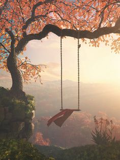 """Good times bring you happiness. Bad times offer you lessons. """"Tree Swing"""" by Cynthia Decker prints on paper, canvas & metal Beautiful World, Beautiful Places, Images Esthétiques, Nature Aesthetic, Plantation, Cute Wallpapers, Aesthetic Pictures, Aesthetic Wallpapers, Nature Photography"""