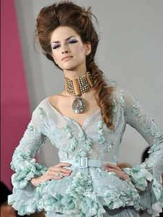 Dior Spring Couture 2010 line