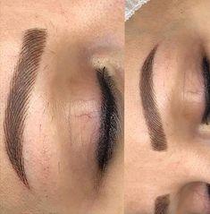 - August 31 2019 at Eyebrow Tinting, Eyebrow Makeup, 3d Eyebrow Embroidery, Mircoblading Eyebrows, Eyebrow Design, Permanent Eyeliner, Make Up Inspiration, Eyebrow Tutorial, Perfect Brows
