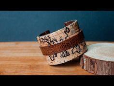 [TUTO] Bracelet Map Monde Vintage FIMO / Polymer Clay Cuff Bracelet