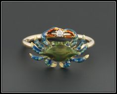Hey, I found this really awesome Etsy listing at https://www.etsy.com/listing/263195924/sold-to-s-final-payment-14k-gold-crab