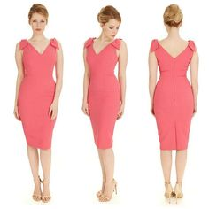 Created in a luxurious crepe fabric, our Ava Hot Pink Luxe Pencil Dress creates an elegant and sophisticated silhouette whilst adding a vibrant pop of colour to your spring wardrobe #fashion #style #elegant #chic #classic #sophisticated #retro #vintage #pink #SS16 #newin #theprettydress #theprettydresscompany