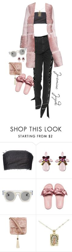 """Untitled #523"" by jasminejayde ❤ liked on Polyvore featuring Kalmanovich, Christopher Kane and Brother Vellies"