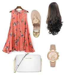 """""""Untitled #17"""" by stepha9763 on Polyvore featuring Jack Rogers and Michael Kors"""