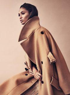 Shades Of Beige  Harper's Bazaar Germany  November 2016   www. harpersbazaar .de    Photography: Marcus Ohlsson   Model: Joan Small...