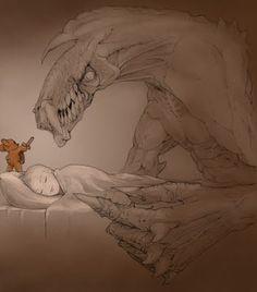 Brave teddy bear.