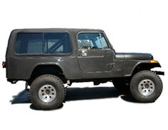 Jeep CJ8 Scrambler hardtop constructed of rugged fiberglass to match your trail rated CJ 8 4x4