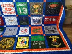 Tshirt Quilts Custom memory blanket deposit by RedKloverBoutique, $100.00
