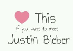 I have never met him before and it is my DREAM to meet him and talk to him and just get to know him better