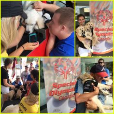 LionPaws puppies were luck enough to spend a morning with the amazing athletes at the Special Olympics GA Summer Games.
