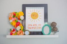 Dwell Beautiful is over at Silhouette America sharing her tutorial for using their free design of the week: a 'You are my sunshine' printable art piece!