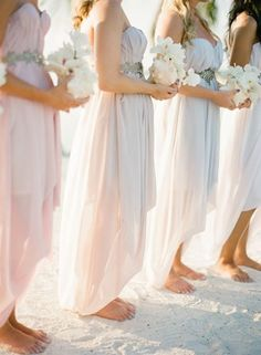 Love these bridesmaid dresses! Check out the link at Keestone Events to get more ideas for a beach bridesmaids dress.