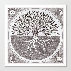 Tree of Life as above so below Laptop & iPad Skin by brenda erickson - MacBook / Pro / Air Iphone Skins, Canvas Prints, Art Prints, Life Tattoos, Buy Frames, Tree Of Life, Metal Art, Line Art, Vibrant Colors