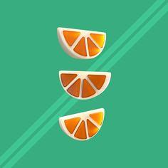 Orange Chew Candy by potatopug