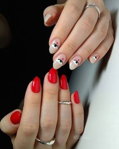 Waxico, the new salon in the Condesa works for membership - Déjate consertir in Waxico, a beauty salon offering nails, waxing and lash lifting affordable for m - Cute Nails, Pretty Nails, Nail Art Designs, Nails Design, Salon Design, Nail Drawing, Moon Nails, Magic Nails, Nagellack Trends