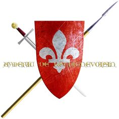 Aymeric de Rechignevoisin. His house originates from Anjou took the Cross in 1248 to join the sixth crusade.