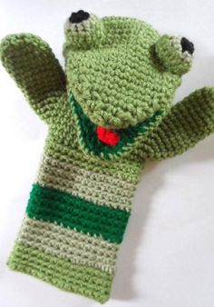 Looking for your next project? You're going to love Froggy Hand Puppet by designer MeredithMurphy.