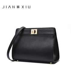 JIANXIU Brand High Quality Genuine Leather Shoulder Crossbody Bag