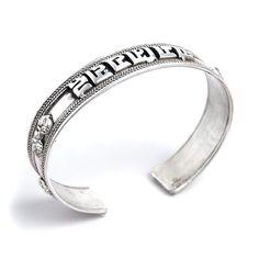 Brățară amuletă Om Mani Padme Hum, argint, Nepal Om Mani Padme Hum, Tibetan Jewelry, Mantra, Nepal, Temple, Jewellery, Bracelets, Silver, Jewerly