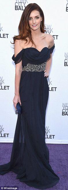 Lydia Hearst at the New York City Ballet's Fall Gala