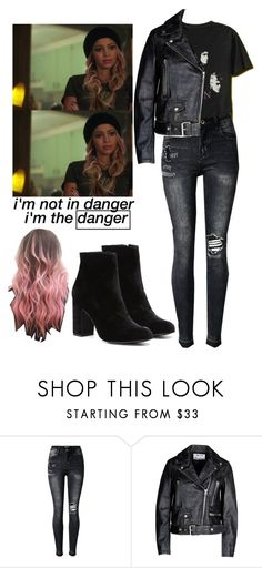"""""""Toni Topaz / Riverdale"""" by demiwitch-of-mischief ❤ liked on Polyvore featuring Acne Studios and Witchery"""