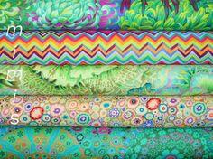 5 la moitié yd bundle, tissu verts Phillip Jacobs / Kaffe Fassett, tissu tissu…                                                                                                                                                                                 Plus
