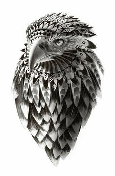 Eagle tattoo tribal tatuaje aguila tribal