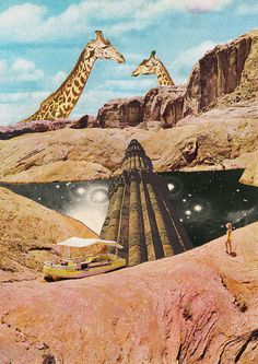 // Collages / #Surreal #Art #Collage by Mariano Peccinetti