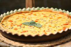 U nás na kopečku: ... rajčatový quiche se slaninou .... Quiche, Food Hacks, Easy Meals, Lose Weight, Food And Drink, Baking, Cookies, Recipes, Diet