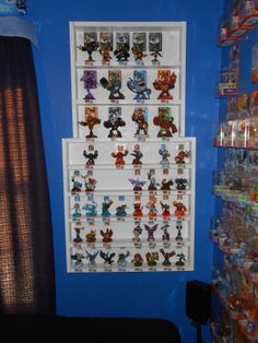 Spyro and Skylanders Forum - Skylanders Toys and Merchandise - Skylanders Coliseum Display - Now worth buying Attic Bedroom Decor, Home Projects, Projects To Try, Lego Room, Anime Reccomendations, Skylanders, 8th Birthday, Dream Decor, Display Shelves