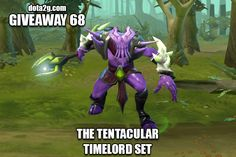 Giveaway 68 - The Tentacular Timelord Set