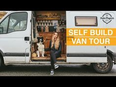 Female uni student saves £1000s a year on rent! (Van Tour) - YouTube