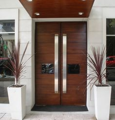 Interior Doors Main Door Design Wood Front Doors And Main Door On Home Door Design, Main Door Design, Front Door Design, Entrance Design, Entrance Decor, Entryway Decor, Double Front Doors, Wood Front Doors, The Doors