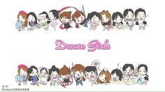 Dreamgirls chibi