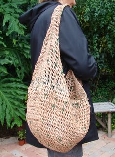 Publix Plarn Grocery Bag by AppleOrchardDesign on Etsy, $30.00