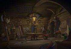 Animation backgrounds on Behance