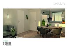 Visualisatie interieurontwerp   Arnhem Interior Design, Nest Design, Home Interior Design, Interior Designing, Home Decor, Interiors, Design Interiors