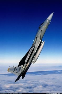 McDonnell Douglas F-15C Eagle of the United States Air Force (USAF). (Source)