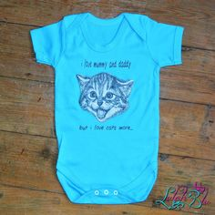Love Mummy And Daddy Love Cats More Baby Grow from Lulah Blu. Personalised the text on this baby grow, we have all sizes from Newborn to 2 years. Cushing Disease, New Mummy, Feline Leukemia, Best Pet Insurance, Healthy Pets, Baby Grows, Health Articles, Pet Health, Personalized Baby