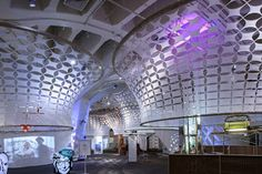 Interactive Cloud-Like Ceiling For Museum Visitors