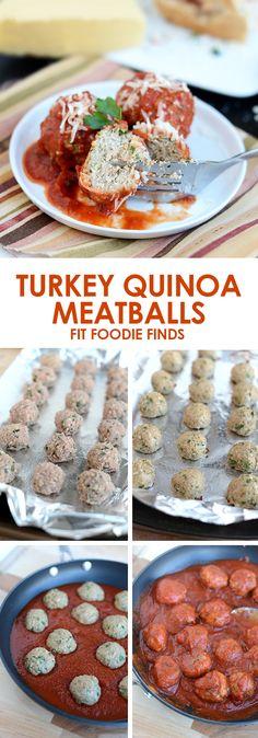 Turkey Quinoa Meatballs