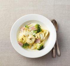 Tortellini mit Broccoli-Sahne-Sauce Rezept - [ESSEN UND TRINKEN]