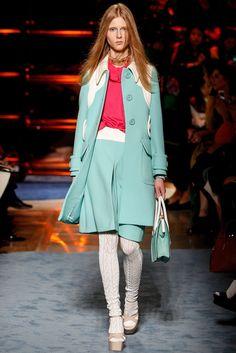 Miu Miu Spring 2014 Ready-to-Wear Fashion Show - Lena Jaslowska (ELITE)