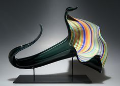 Bloom by David Patchen: Art Glass Sculpture available at www.artfulhome.com