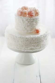 ummm hellow frilly cake tutorial