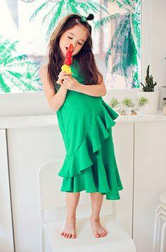 Le Girl Flot Dress (2C)